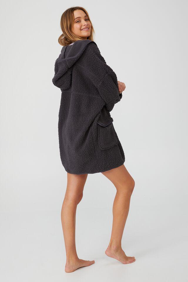 Oversized Snuggle Cardigan, CASTLE ROCK