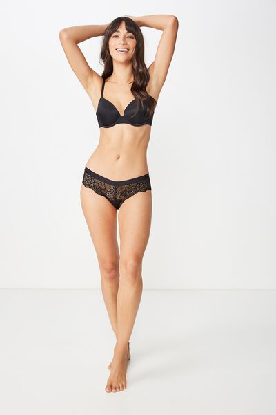 Candice Brasiliano Brief, BLACK
