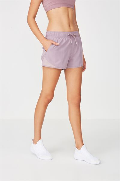Run Mesh Short, THISTLE MAUVE