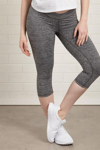 Maternity Core Capri Ub, SALT & PEPPER
