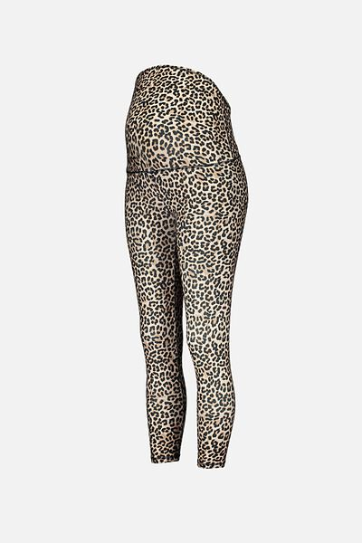 Maternity Ultimate Studio 7/8 Tight, SUMMER LEOPARD