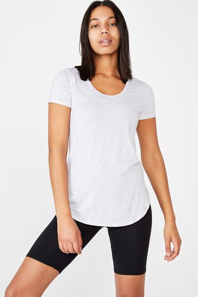 Gym T Shirt, GREY MARLE