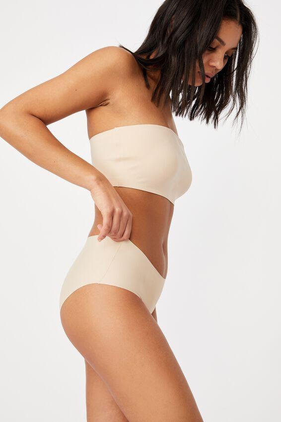 Seamfree Tanga Bikini, NEW LATTE