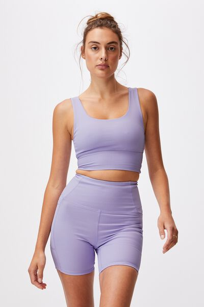 Rib Pocket Bike Short, CHALKY LAVENDER RIB