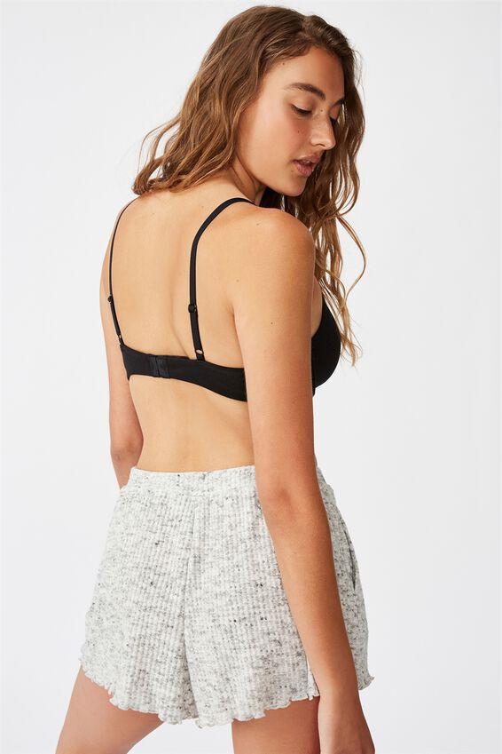 Ultimate Comfort Cotton T-Shirt Bra, BLACK
