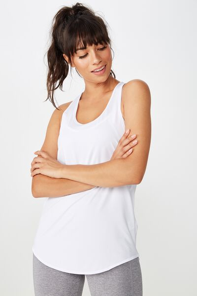 Training Tank Top, WHITE
