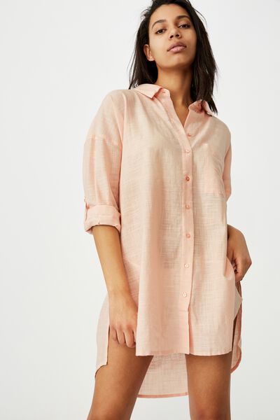 I Do Shirt Nightie, DUSTY BLUSH