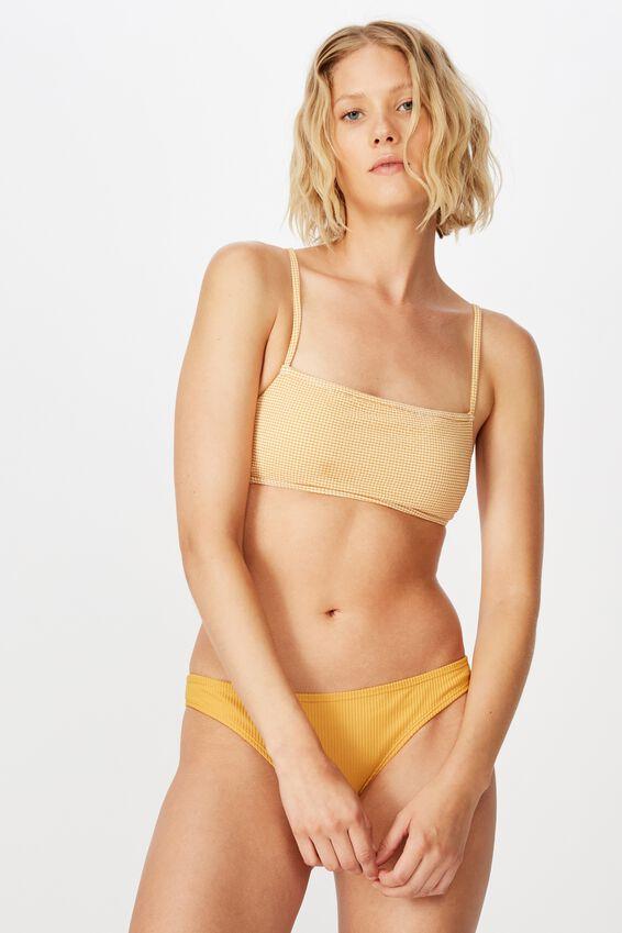 Classic Full Bikini Bottom, SPICY MUSTARD RIB