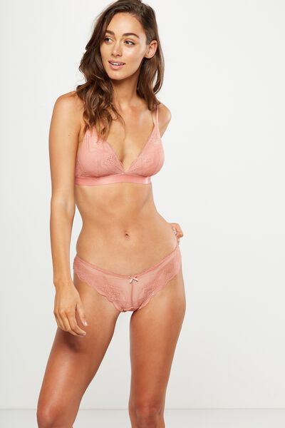 Cindy Brasiliano Brief, POWDER PEACH