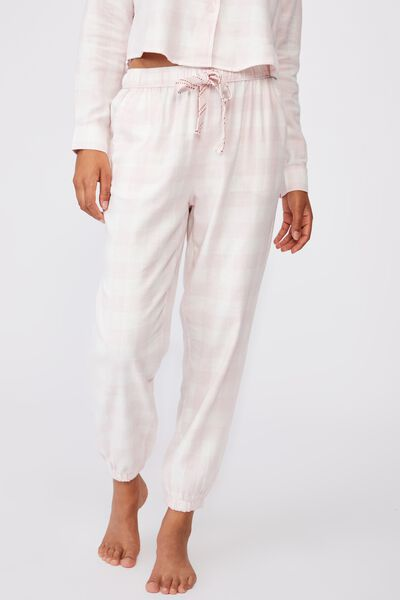 Flannel Sleep Pant, GINGHAM CHECK