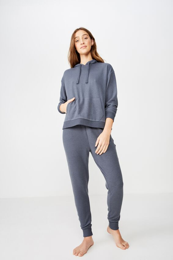 Supersoft Lounge Hoodie, IRON