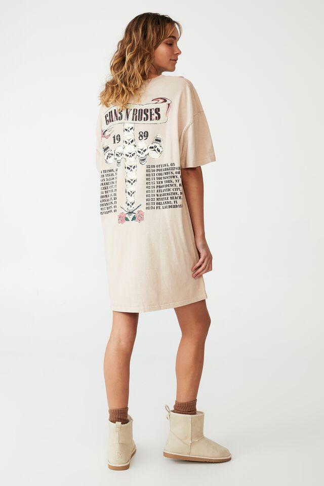 90S T-Shirt Nightie, LCN BR GUNS N' ROSES/SWEET CHILD O' MINE