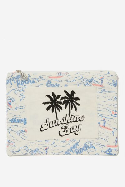 Surf Club Bikini Bag, SURFER GIRL