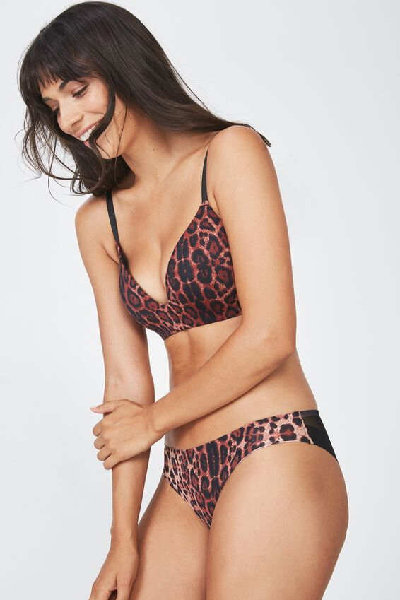 Ultimate Comfort Bra, TRUE LEOPARD