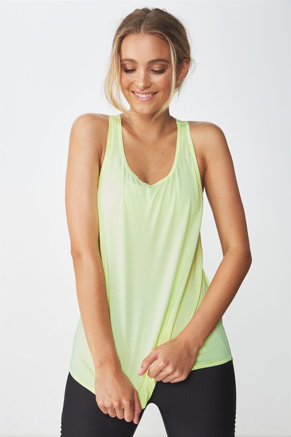 Training Tank Top, LIMELIGHT MARLE