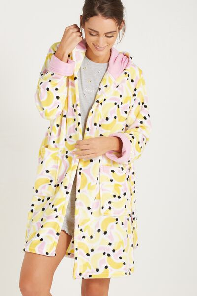 Luxe Plush Gown, BANANA