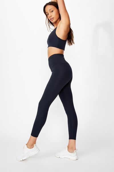 Active High Waist Core 7/8 Tight, NAVY