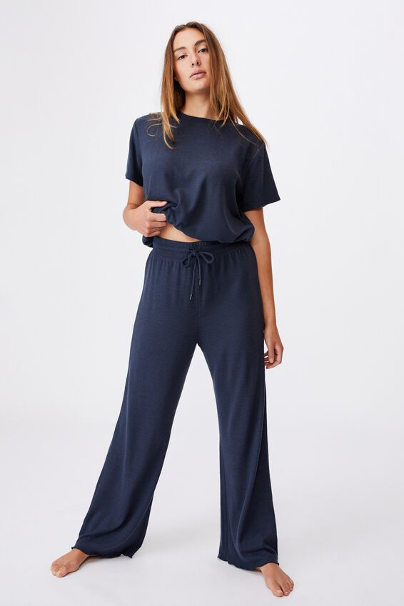 Super Soft Relaxed Pant, MAGNET BLUE
