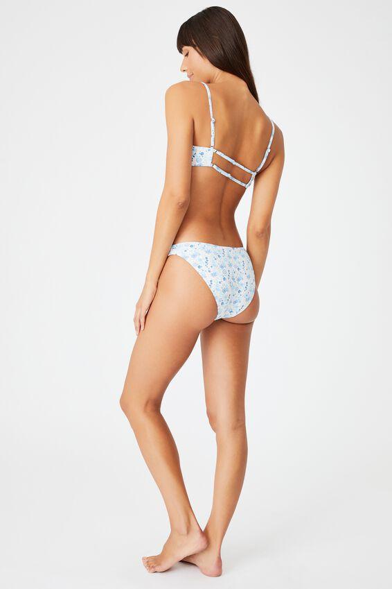 Full Bikini Bottom, VINTAGE RETRO DITSY
