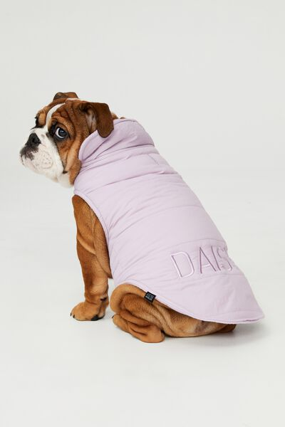 Personalised Body Buddy Mother Puppa Jacket, DUSTY LILAC