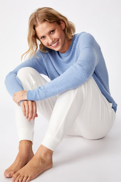 Supersoft Pocket Crew, SILVER LAKE BLUE MARLE