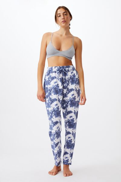 The Lounge Pant, NAVY TIE DYE