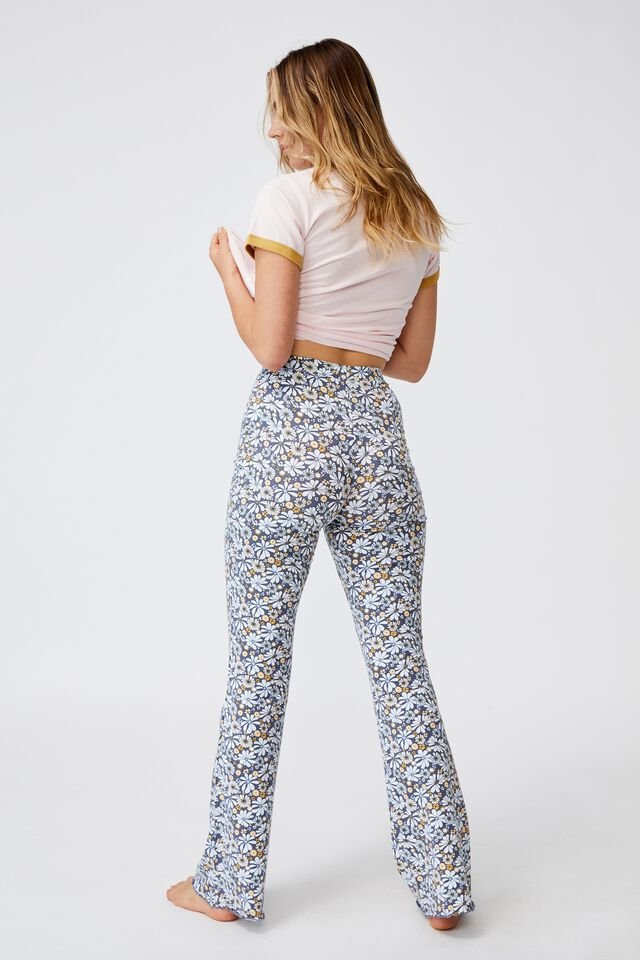 Jersey Bed Pant, SOFTLY RETRO BLUES