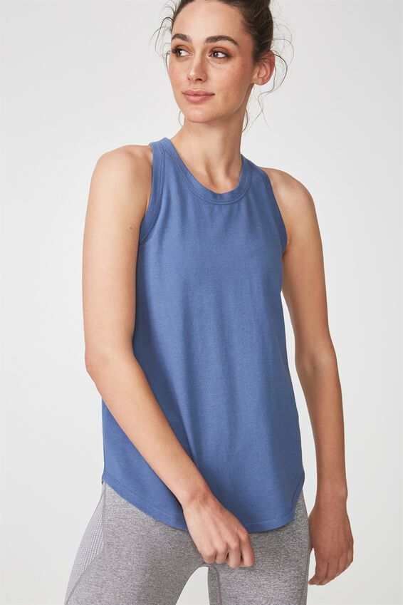 Workout Tank Top, CHALKY BLUE