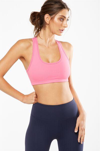Workout Cardio Crop, AZALEA PINK