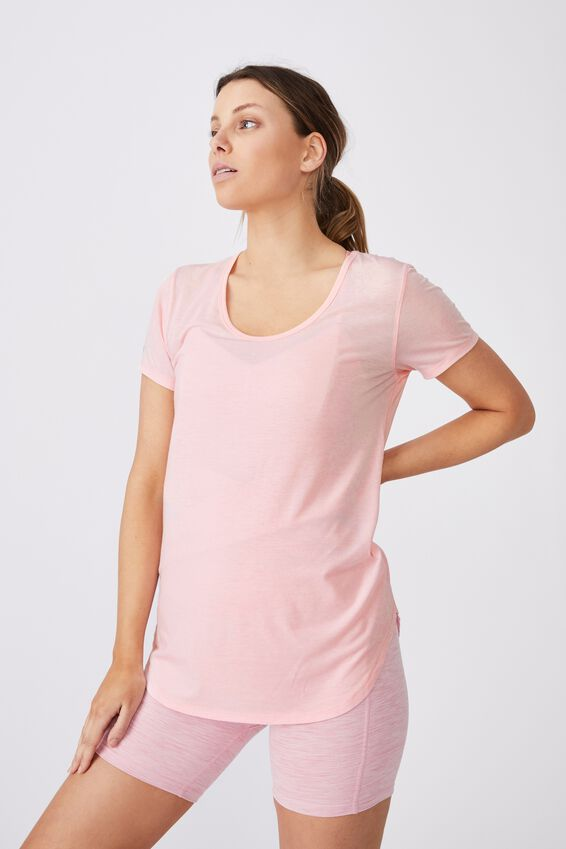 Gym T Shirt, ROSE WATER