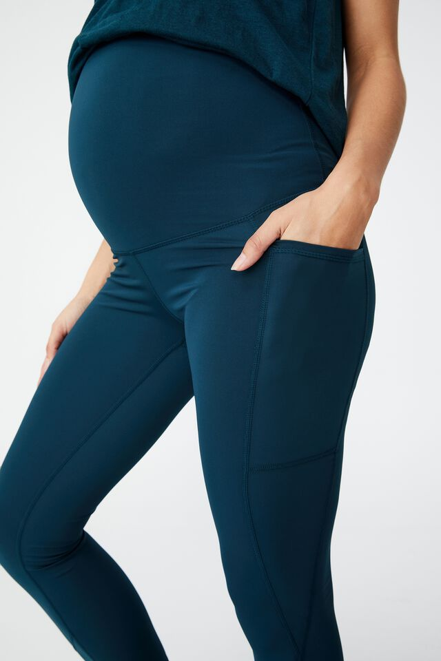 Contouring Maternity 7/8 Tight, JUNE BUG