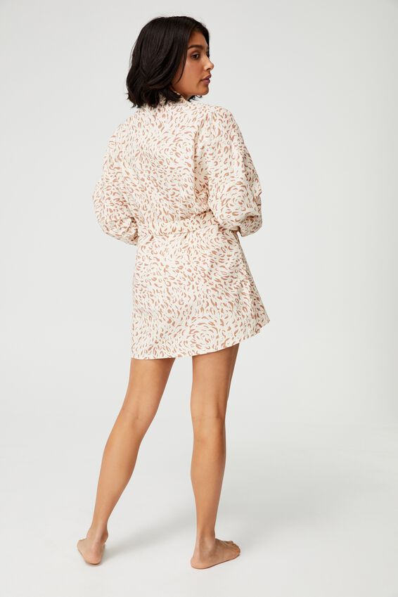 Beach Cover Up, MOVEMENT LEOPARD