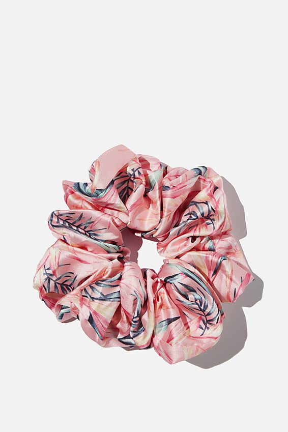 Super Luxe Scrunchie, SUNSET TROPICAL