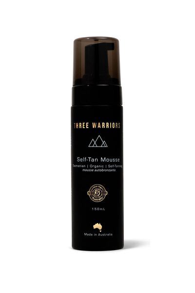 Three Warriors Self Tanning Mousse, SELF TANNING MOUSSE