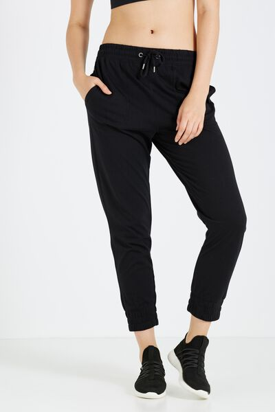 Lightweight Track Pant, BLACK