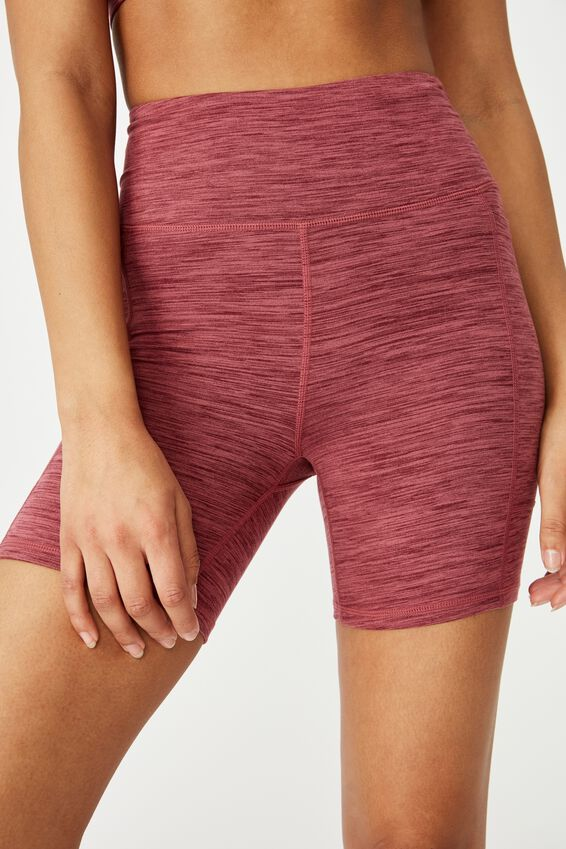 Booty Bike Short, MULBERRY MARLE