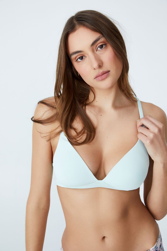 Wirefree Everyday T-Shirt Bra, PEPPERMINT