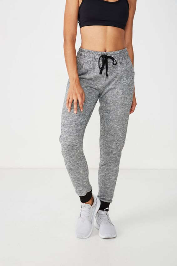 Gym Track Pants, BLACK/VARSITY
