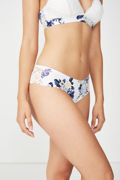 Love Story Brasiliano Brief, CREAM SUPER BLOOM