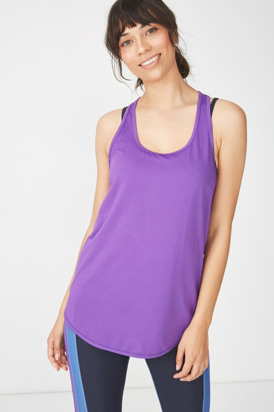 Training Tank Top, MULBERRY