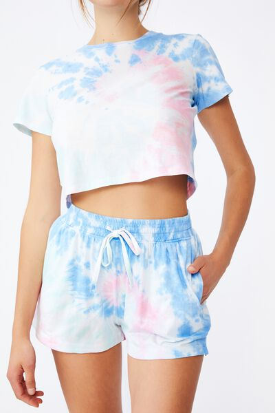 Jersey Sleep Short, TIE DYE SWIRL