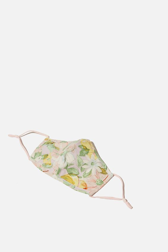 Foundation Face Mask Adults, SHARNA FLORAL