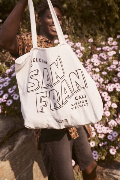 Cotton On Foundation Tote, SAN FRAN RSA