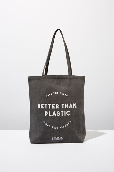 Foundation Online Exclusive Totes, BETTER THAN PLASTIC