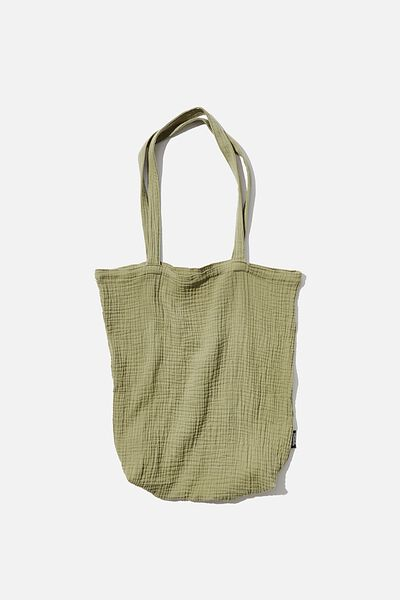 Foundation Fashion Tote, OIL GREEN