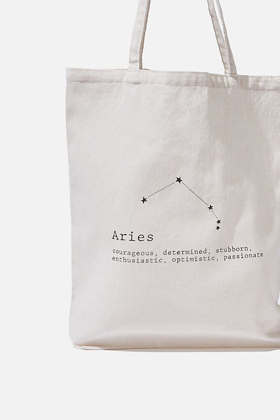 Foundation Online Exclusive Star Sign Tote, ARIES