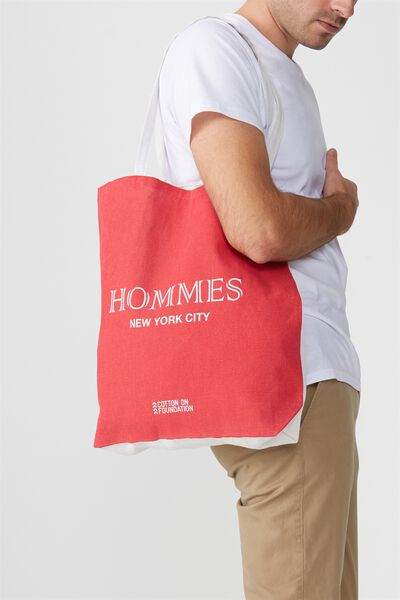 Cotton On Foundation Tote, HOMMES