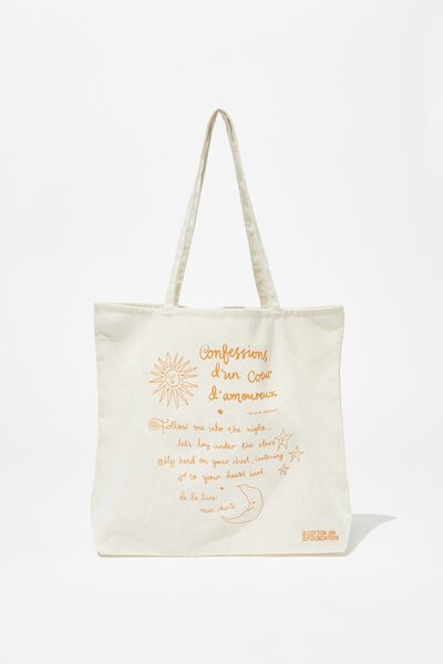 Foundation Tote Bag Adults, CONFESSIONS