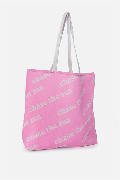 Foundation Kids Tote Bag, CHASE THE SUN