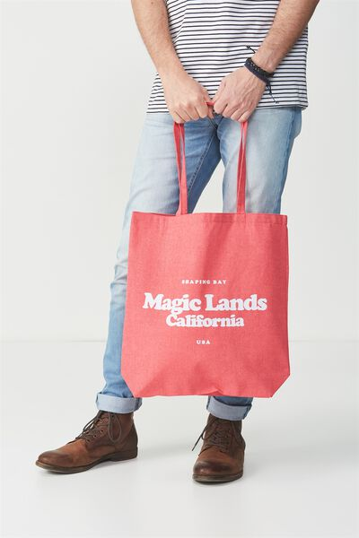 Cotton On Foundation Tote, MAGIC LANDS